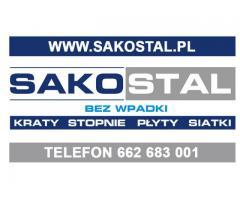 Kraty wema, pomostowe mostostal, stopnie schodowe Wrocław